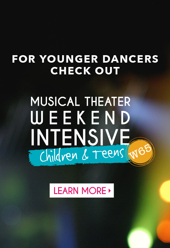 Musical Theater Weekend Intensive W65