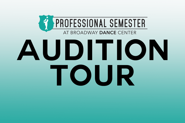 Professional Semester Audition Tour