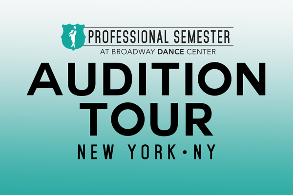 Professional Semester Audition Tour • New York, NY
