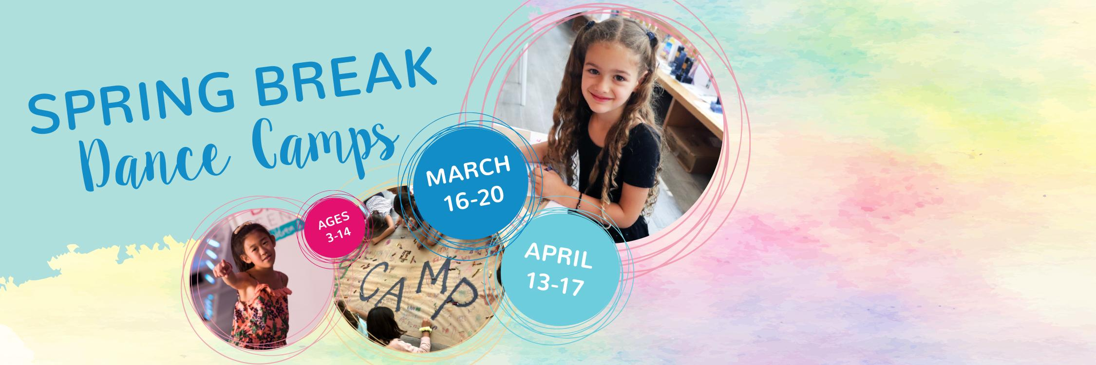 Spring Break Dance Camp Slider 2020