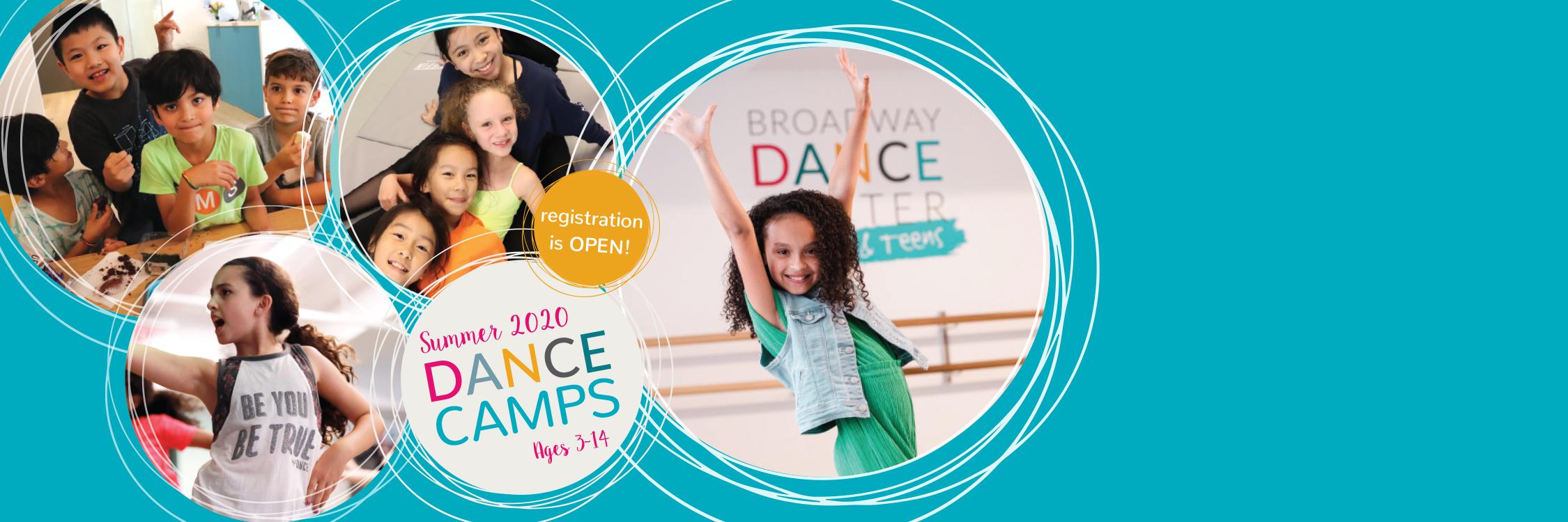 2020 Summer Dance Camp Slider
