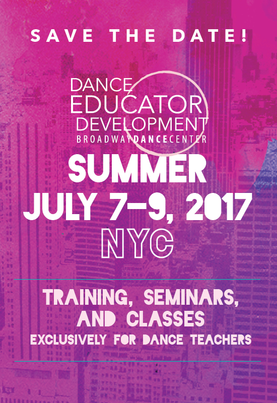 Dance Educator Development | Summer 2017