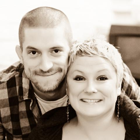 Missy Lay-Zimmer and Andrew Hubbard